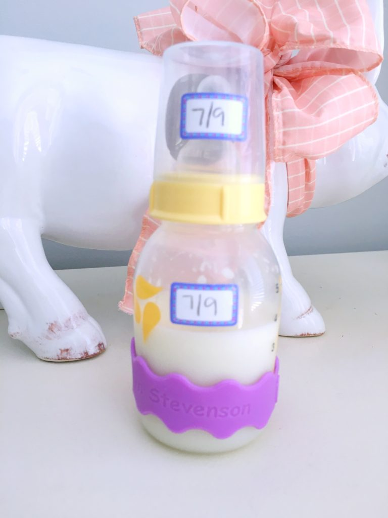 The Best Way To Label Daycare Bottles The Brave Little Mama